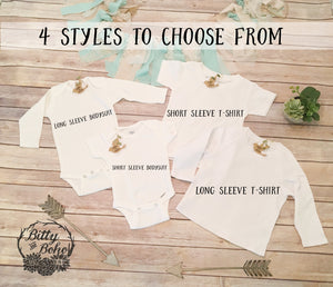 Little Sister Onesie, Little Sister Shirt, Cute Baby Clothes, Baby Girl Clothes, Sister Gifts, Family Shirts, Baby Announcent Pregnancy