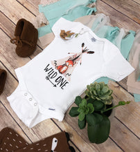 Wild One Onesie® - Fox Birthday Boy Shirt