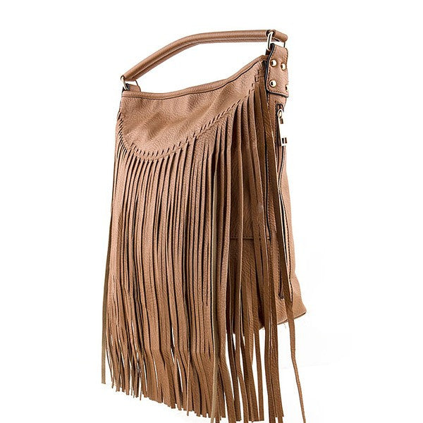 Fabulous Fringe Handbag - Prairie Rose Boutique