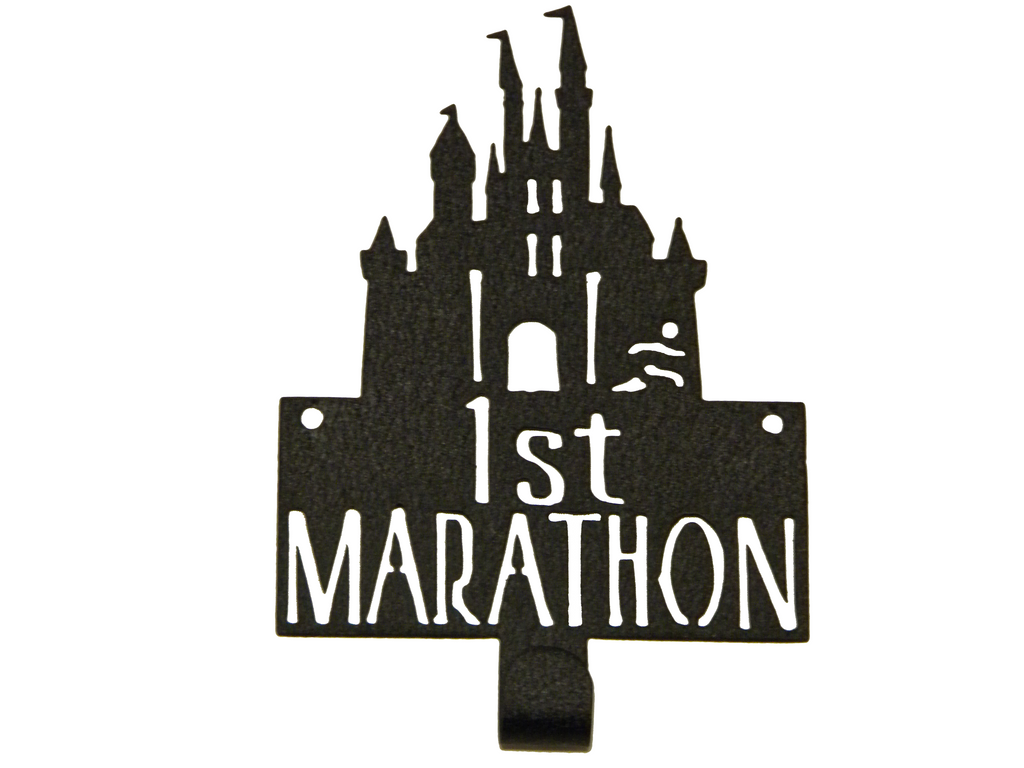 Castle Disney 1st Marathon Medal Display