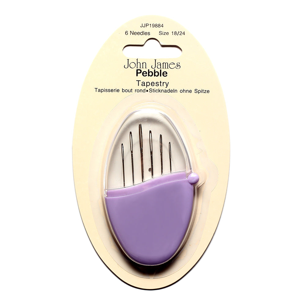 Tapestry/Cross Stitch Sewing Needles Pebble