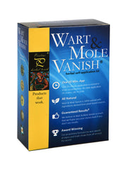 Wart Mole Vanish Kit (Removes 2-5 Large Growths or 5-25 Smaller Ones)