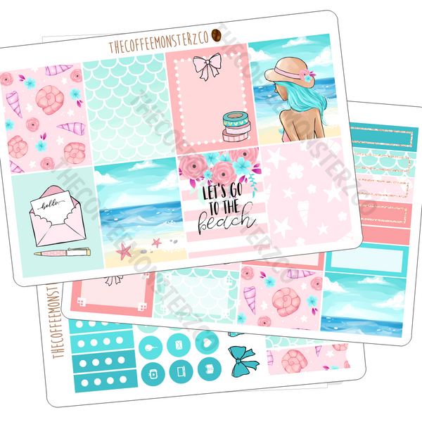 Last Summer - MINI kit (3 page), TheCoffeeMonsterzCo