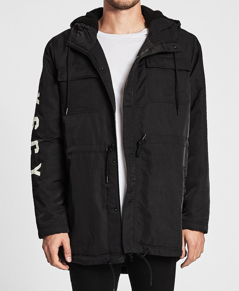 Kiss Chacey - Squad Hooded Jacket - Jet Black