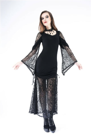 DW155 Gothic knited lace sexy dress