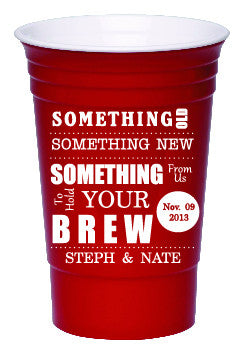 Party Cup - Something to Hold Your Brew - Qty. 100 - Wedding Favors Plus - 1