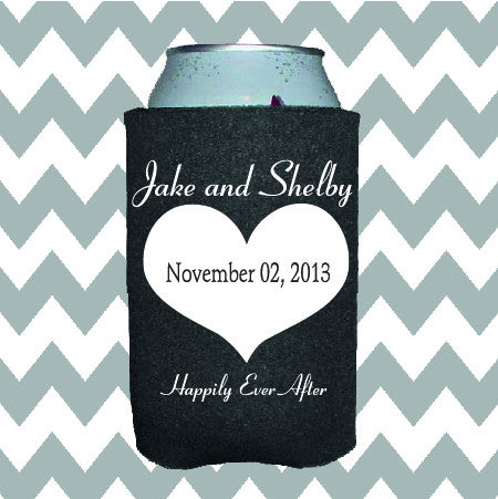 Wedding Can Insulators - Happily Ever After - Qty. 100 - Wedding Favors Plus - 1