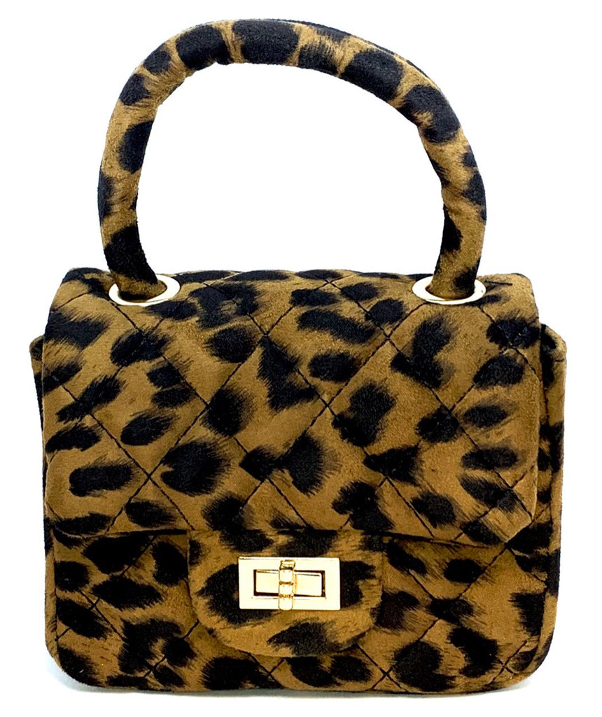 Leopard Handbag Purse Crossbody