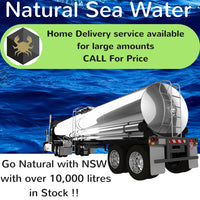 Natural Sea Water deliveries