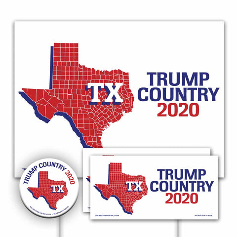 Texas is Trump Country Yard Sign Kit
