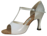 010T Boriana  | Silver Leather - Shop4Dancer