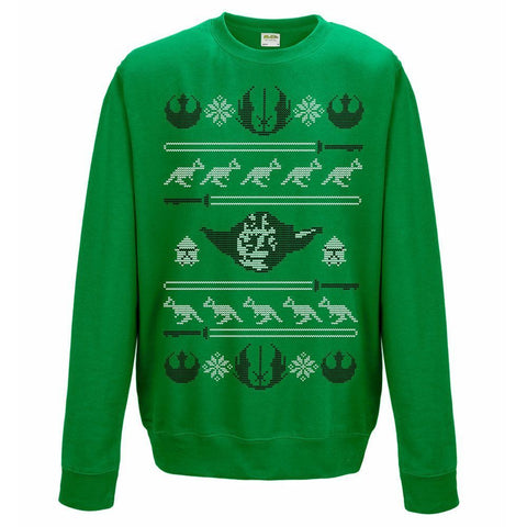 Star Wars - Yoda Christmas Sweatshirt