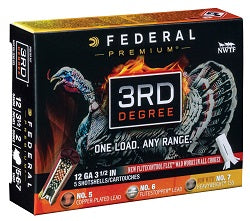 Federal Premium Upgrades 3rd Degree with FLITECONTROL FLEX Wad and HEAVYWEIGHT TSS