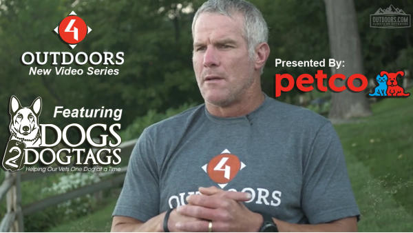 Brett Favre to Host Petco's Dogs2DogTags Video Series