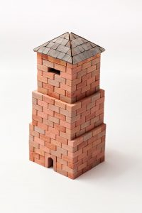 Bricks Set-West Tower 400 pcs