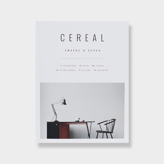Cereal: Travel and Style No.9 -