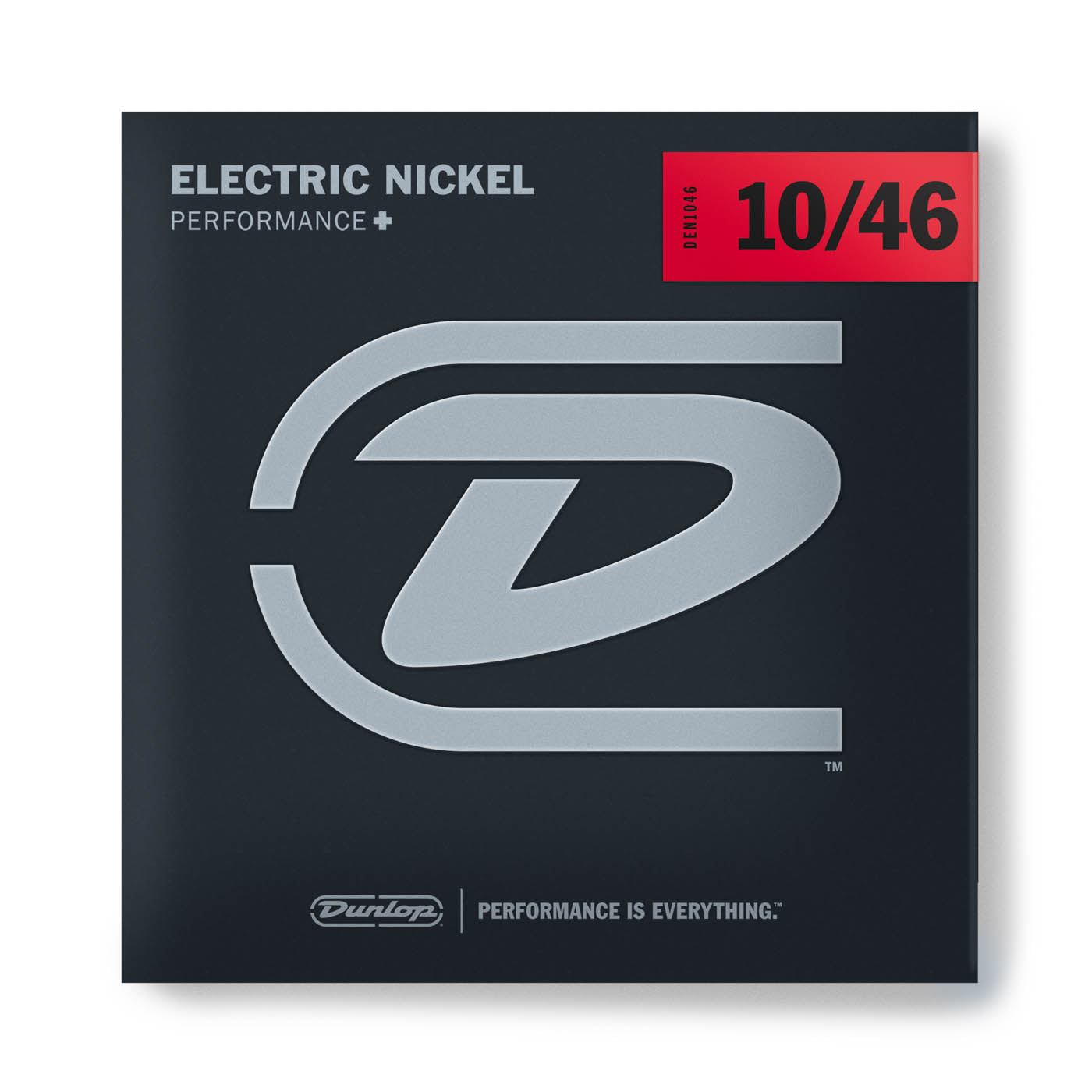 Dunlop Performance+ Nickel Wound Electric Guitar Strings - 10/46