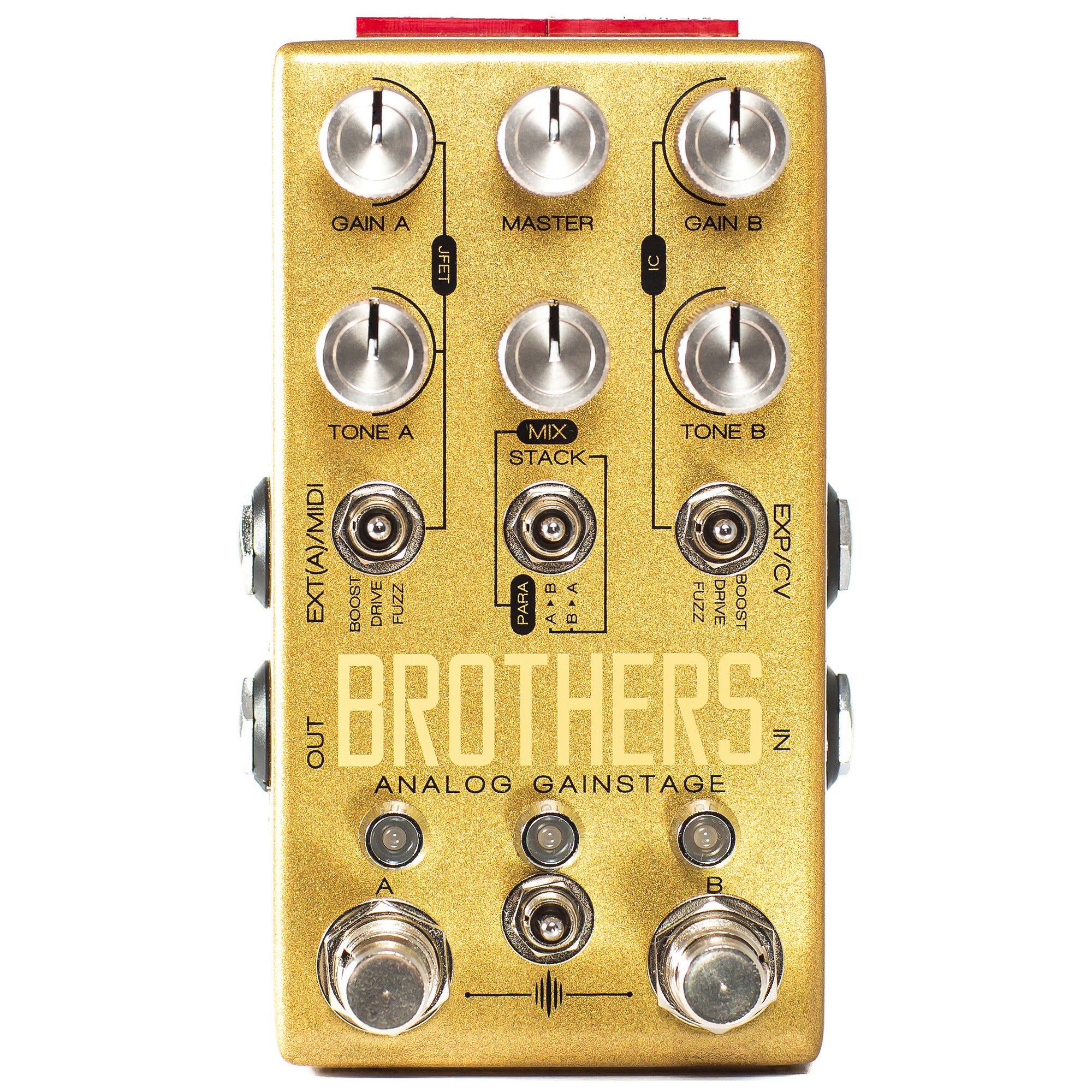 Chase Bliss Audio Brothers Boost, Fuzz & Overdrive