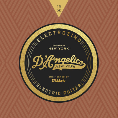 D'Angelico Electrozinc Strings Jazz 12-52