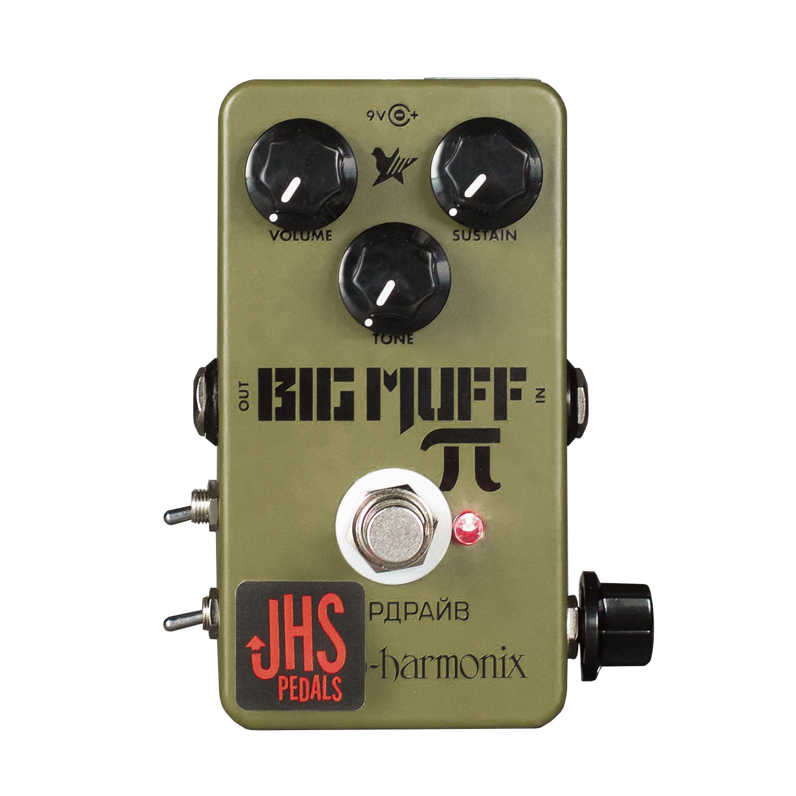 "JHS Pedals Green Russian Pi ""Moscow Mod"""