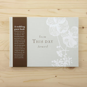 'From This Day Forward' Guest Book - The Love Trees