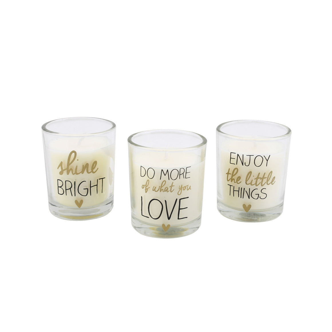 Set of 3 Ab Fab Scented Candles