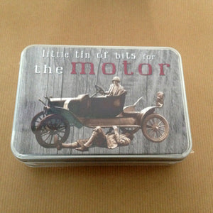 'Bits For The Motor' Small Tin - The Love Trees