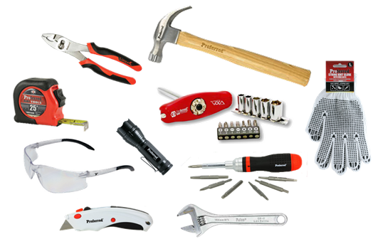 Freshen up that old tool box with the proferred.tools 10 piece bundle!