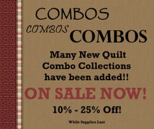 Combo Quilt Sets Save You Money!