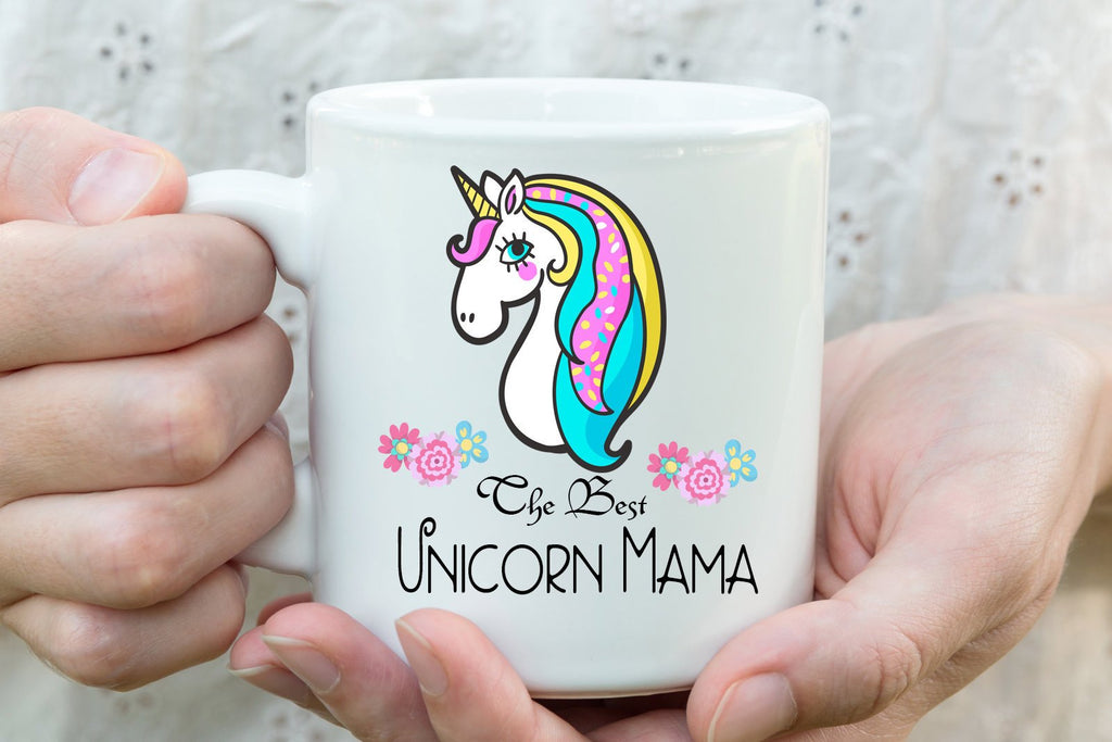 The best Unicorn Mama - Mothers Day Mug