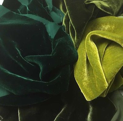 Greens Sample Set - Silk Velvet