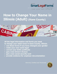 How to Change Your Name in Illinois (Adult) (Kane County) - SmartLegalForms