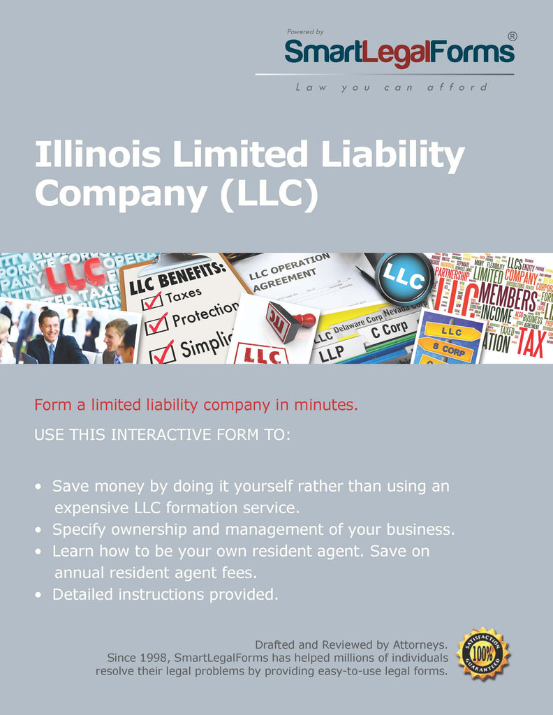 Articles of Organization (LLC) - Illinois - SmartLegalForms