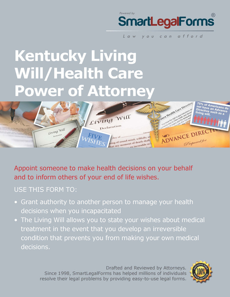 Kentucky Living Will/Health Care Power of Attorney - SmartLegalForms