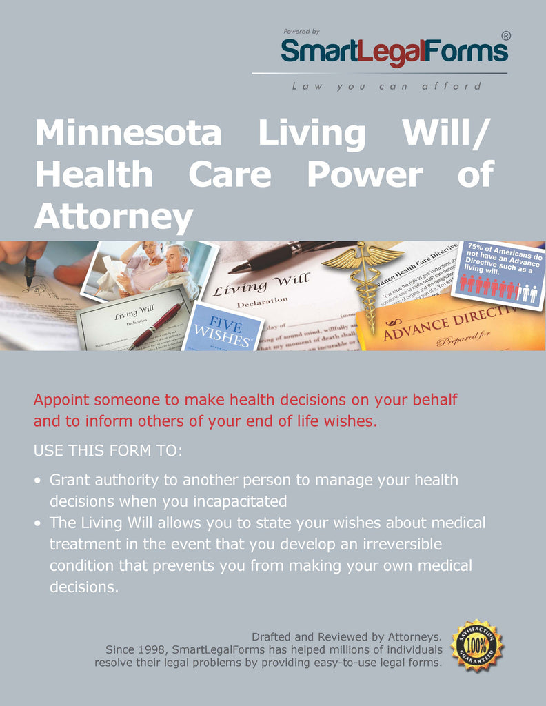 Minnesota Living Will/Health Care Power of Attorney - SmartLegalForms