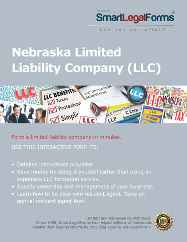 Certificate of Organization (LLC) - Nebraska - SmartLegalForms