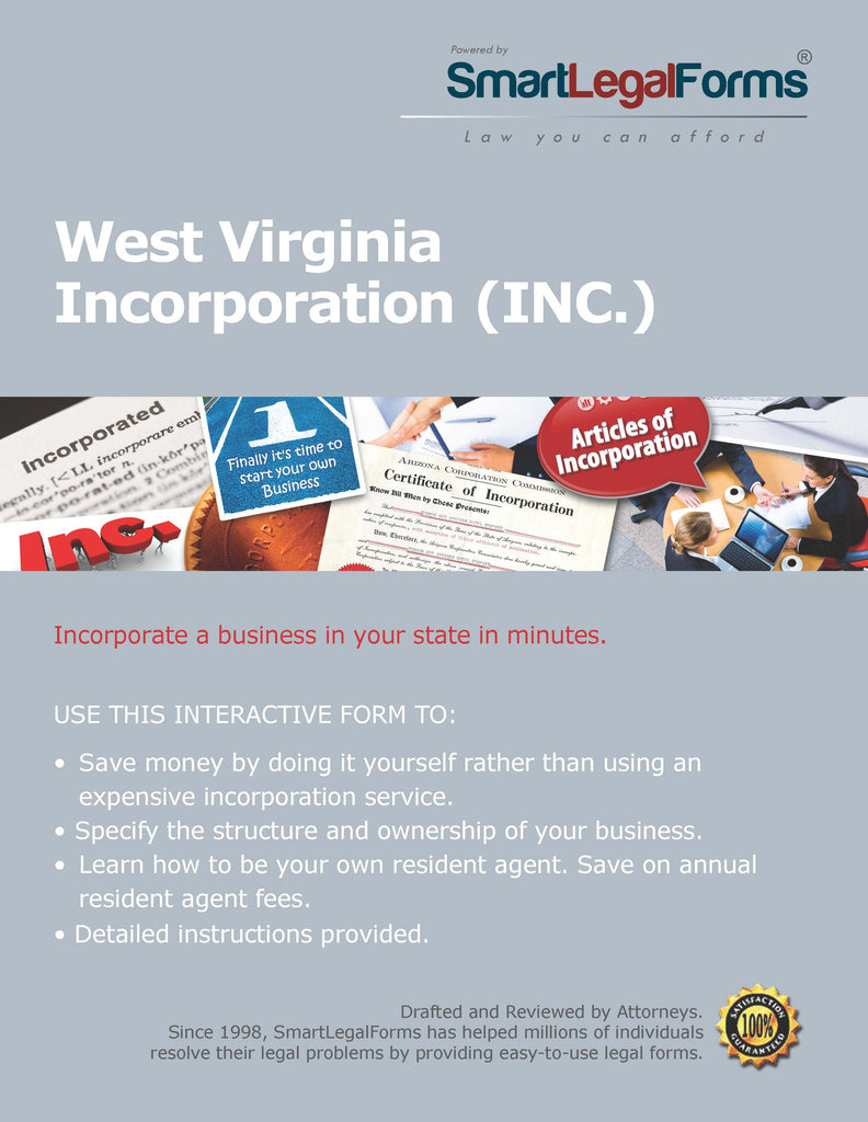 Articles of Incorporation (Profit) - West Virginia - SmartLegalForms