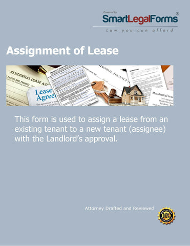Assignment of Lease Agreement - SmartLegalForms