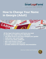 Georgia Name Change (Adult) - SmartLegalForms
