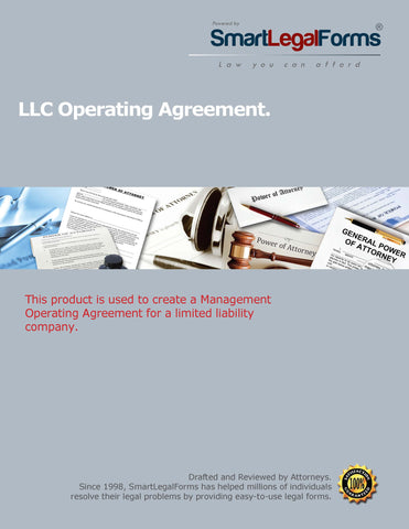 LLC Operating Agreement - SmartLegalForms