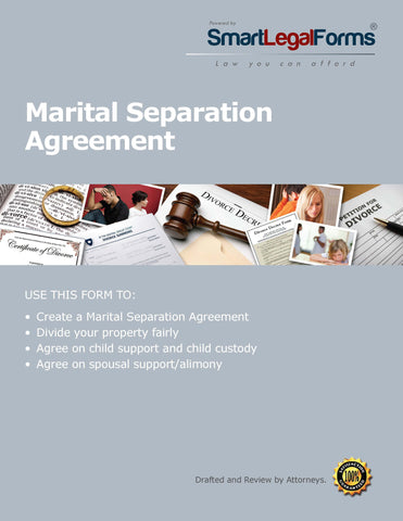 Marital Separation Agreement - SmartLegalForms