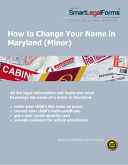 Maryland Name Change (Minor) - SmartLegalForms