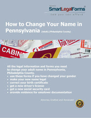 Change Your Name in Pennsylvania (Adult - Philadelphia) - SmartLegalForms
