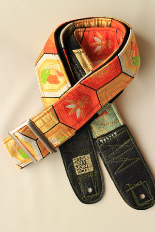 Singing Crane - Beautiful guitar strap - Kikko-b (SC105217) SALE