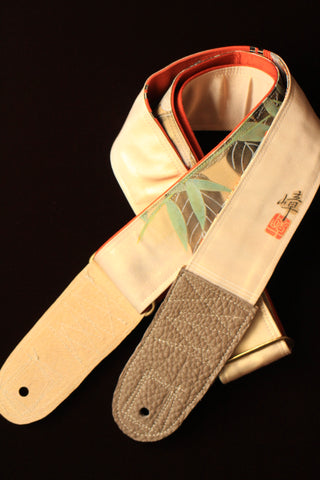 Singing Crane - Beautiful guitar strap - Usuko-or (SC106217)