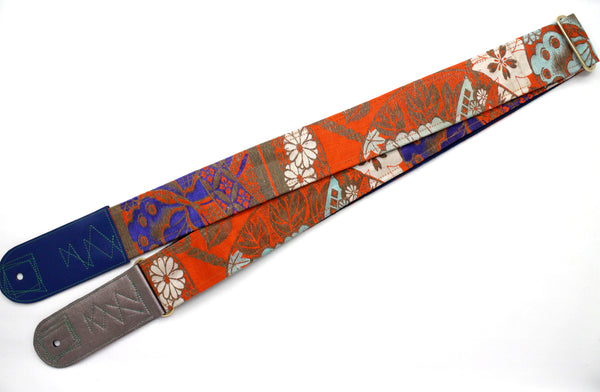 Singing Crane - Beautiful guitar strap - SC818051