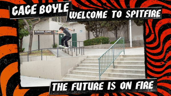Gage Boyle's welcome to Spitfire