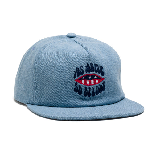 Above & Below Snapback