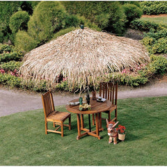 10ft Authentic Palm Thatch Tropical Thatch Umbrella Cover
