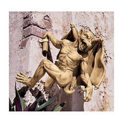"15"" Large Dagon Gothic Gargoyle Wall Statue Sculpture Figurine [Kitchen]"